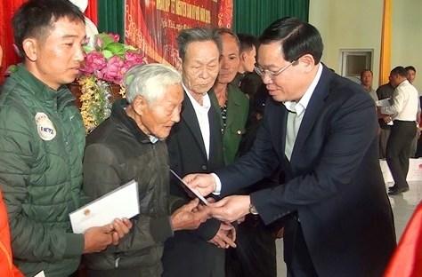Phó Thủ tướng Vương Đình Huệ,Vương Đình Huệ,Tết Nguyên đán,Tết Kỷ Hợi 2019,Nghệ An