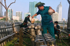 Xem trận địa 2.700 quả pháo chờ khai hoả, đón giao thừa ở Sài Gòn