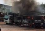 Cháy bãi xe ngày 30 Tết, nhiều ô tô bị thiêu rụi