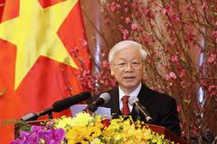 Tổng bí thư, Chủ tịch nước chúc Tết Nguyên đán Kỷ Hợi