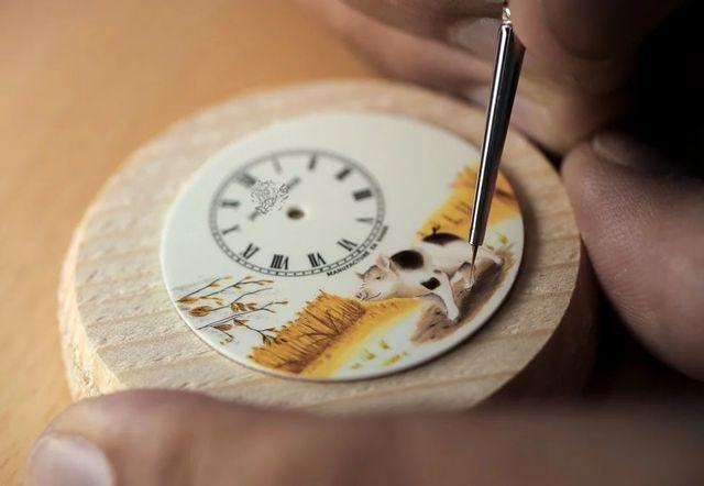 Chiêm ngưỡng 7 chiếc đồng hồ tựa như những tác phẩm nghệ thuật đón năm Kỷ Hợi