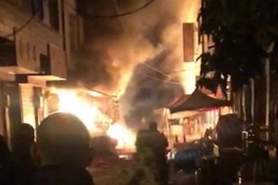 Cháy cửa hàng pháo ở TQ, 5 người thiệt mạng