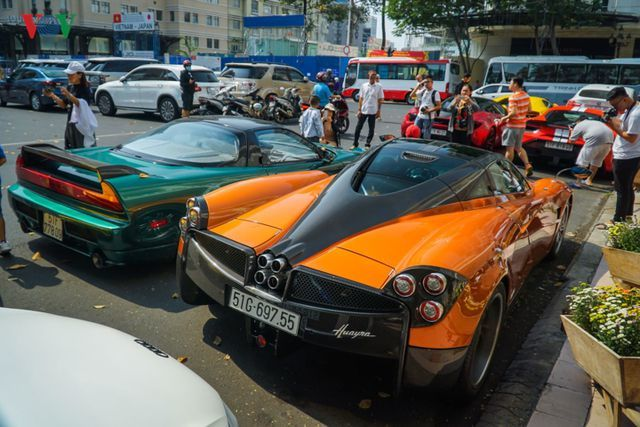siêu xe,McLaren,Lamborghini,Ferrari,Pagani Huayra,Cường Đô la
