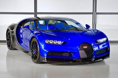 Siêu xe 3 triệu USD Bugatti Chiron Sport đầu tiên đã chào đời