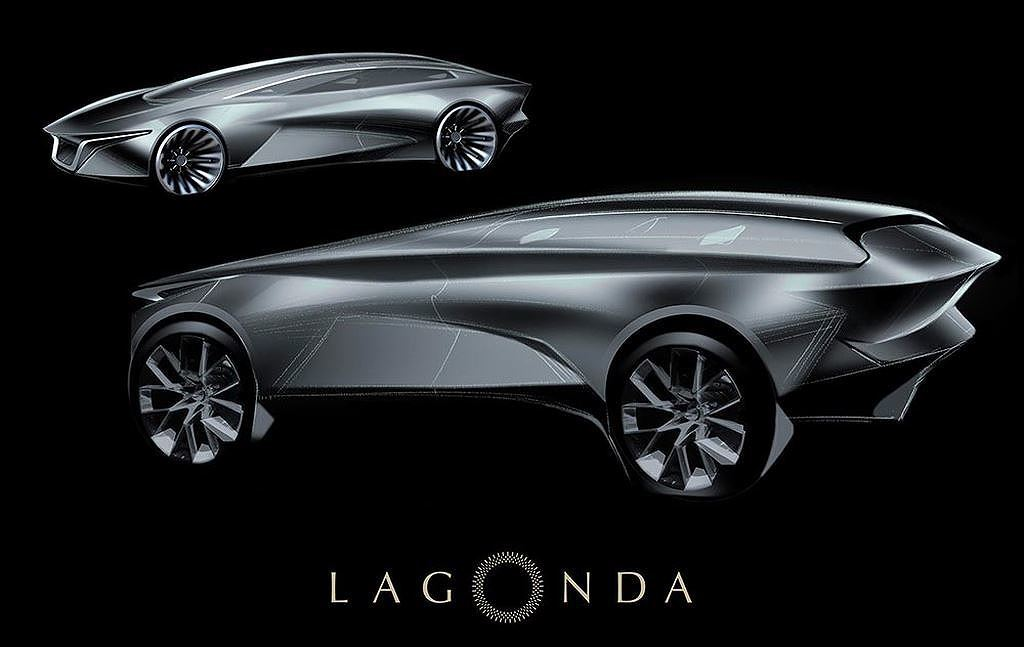 ô tô điện,Aston Martin,Lagonda,SUV điện