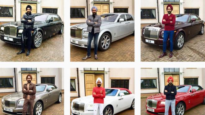 tỷ phú Reuben Singh,Rolls- Royce