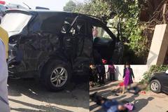 Khởi tố tài xế xe khách đâm xe biển xanh 3 người chết
