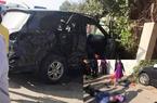 Công an thông tin vụ xe biển xanh bị xe khách húc, 3 người chết