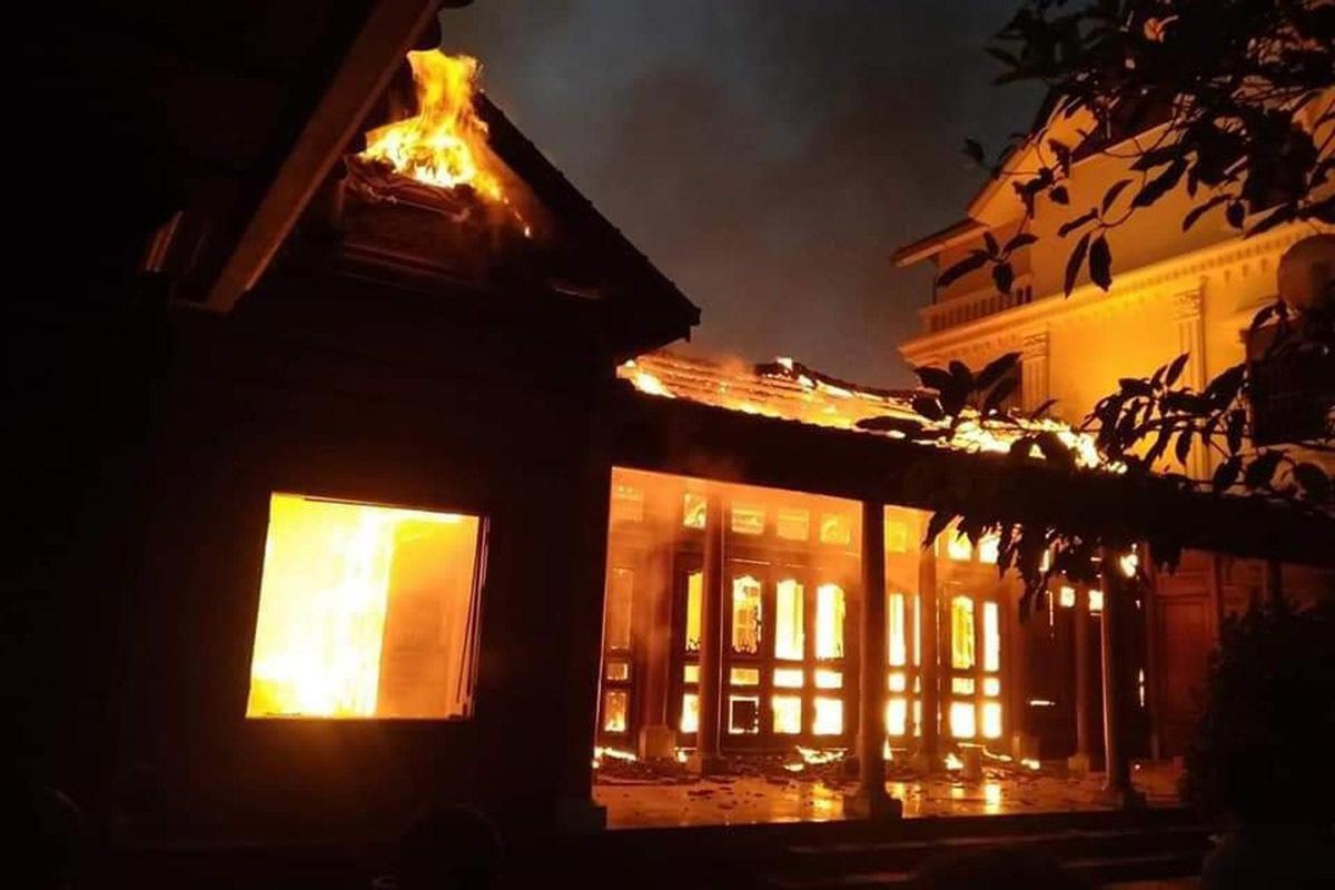 cháy nhà,hỏa hoạn,Nghệ An