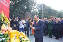 Thủ tướng dự lễ kỷ niệm 230 năm chiến thắng Ngọc Hồi - Đống Đa
