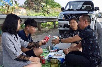 Những hành động ngớ ngẩn của người Việt trên cao tốc