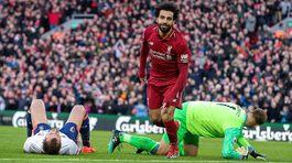 Salah ghi bàn, Liverpool đòi lại ngôi đầu