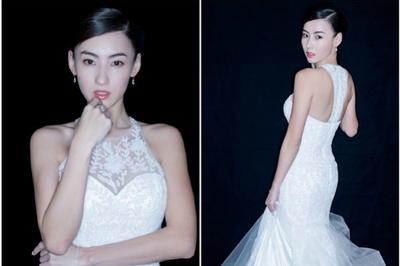 Trương Bá Chi đăng ảnh mặc váy cô dâu, hé lộ đám cưới sắp diễn ra?