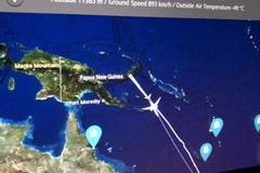 Máy bay New Zealand quay đầu vì TQ không cho phép hạ cánh