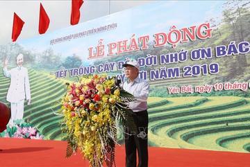 Tổng Bí thư, Chủ tịch nước phát động 'Tết trồng cây đời đời nhớ ơn Bác Hồ'