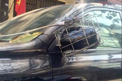 Tuyệt chiêu chống vặt trộm gương ô tô