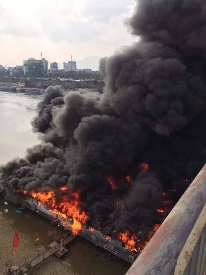 cháy nhà hàng,hỏa hoạn,Tuyên Quang