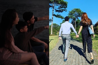 Khoảnh khắc bình yên của Đàm Thu Trang và Cường Đô La bên con trai Subeo