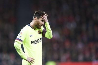 """Messi bị """"khóa chặt"""", Barca bất lực trước Bilbao"""