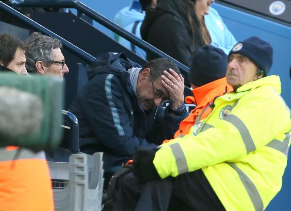 Maurizio Sarri,Chelsea,Man City,Abarmovich
