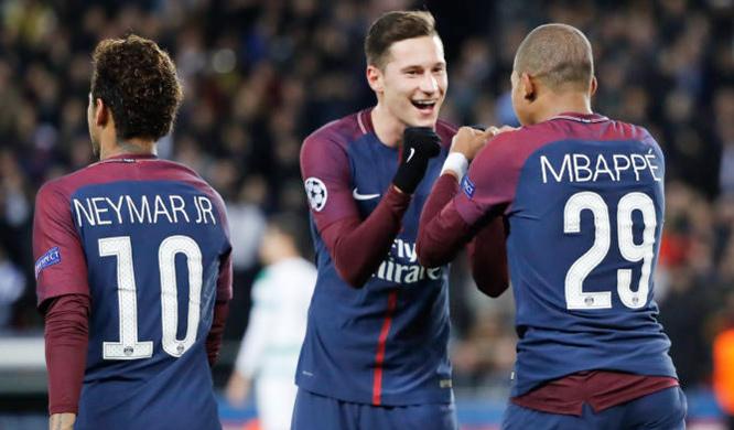 MU,PSG,Neymar,Cavani,Mbappe