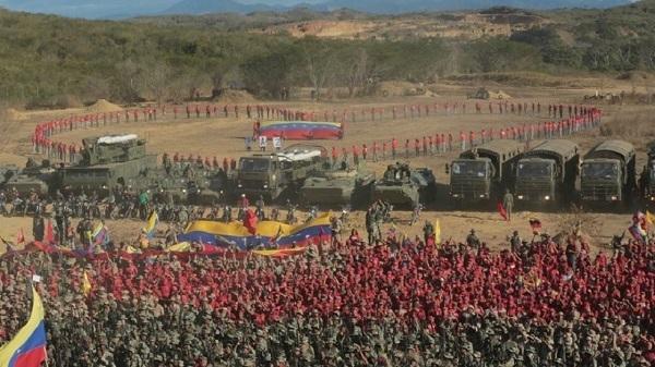 Venezuela mở màn tập trận 'quan trọng nhất' lịch sử