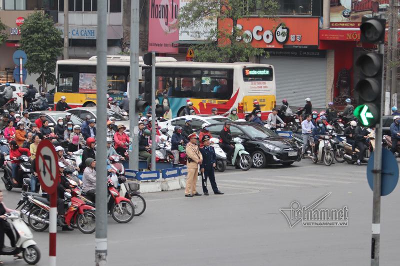 tắc đường,Hà Nội