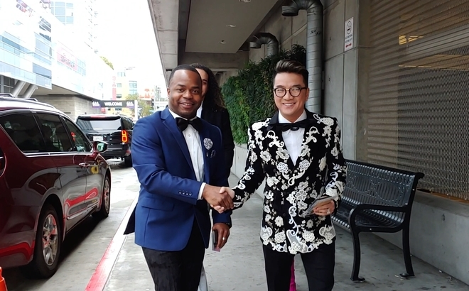 Đàm Vĩnh Hưng diện cây hàng hiệu dự lễ trao giải Grammy 2019