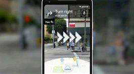 Google Maps sắp hỗ trợ tính năng thực tế tăng cường (AR)