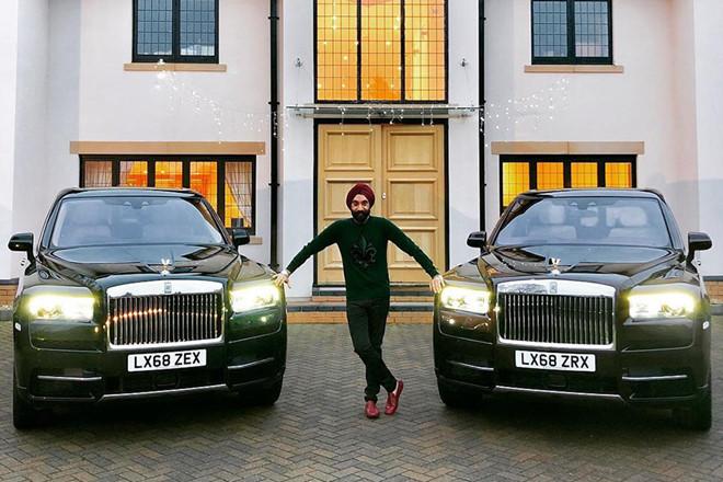 Tỷ Phú Reuben Singh,siêu xe,Rolls- Royce