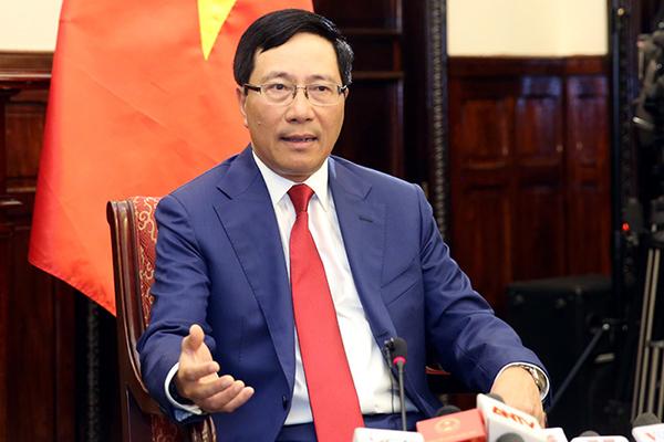 Phó Thủ tướng,Phạm Bình Minh,Triều Tiên