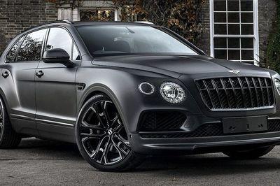 Ngắm siêu phẩm Bentley Bentayga đen tuyền