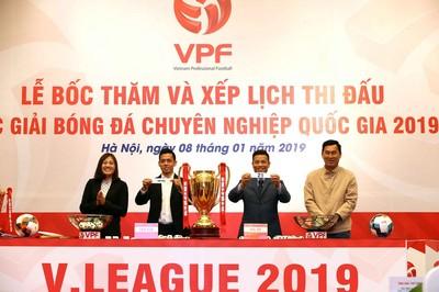 Lịch thi đấu lượt đi V-League 2019