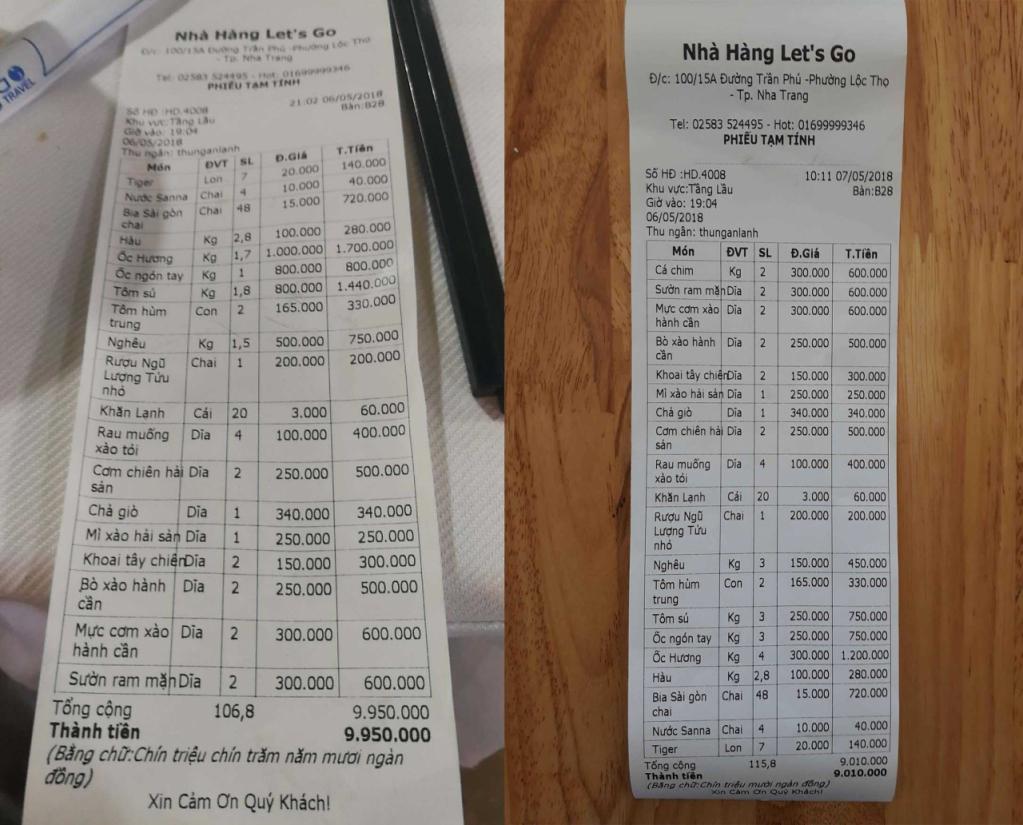 Chặt Chém,Khánh Hòa,Chặt Chém Du Khách,Nha Trang