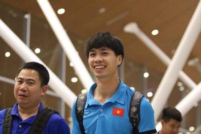 Công Phượng bay sang Hàn Quốc, ra mắt Incheon United