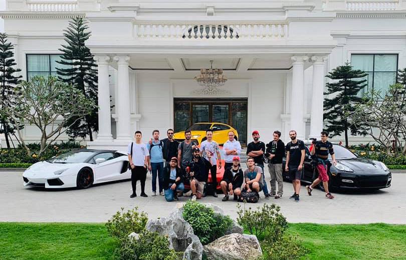 Dàn siêu xe hơn 70 tỷ về Tuần Châu làm phim về F1