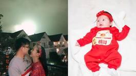 Diễn viên 'Nhà có nhiều cửa sổ' khoe ảnh con gái 1 tháng tuổi