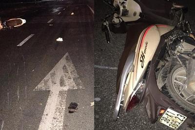 Xe máy tông xe tải đỗ bên đường, 3 thanh niên tử vong