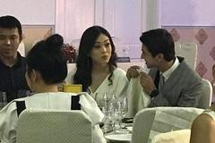 Lộ ảnh nét căng: Bình An - Bùi Phương Nga 'tình bể bình' đi ăn tiệc dù phủ nhận yêu đương