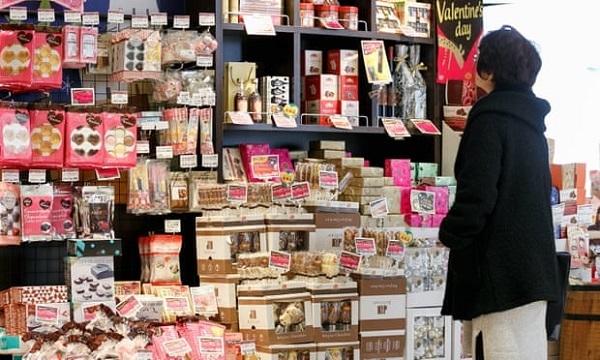 Valentine,socola,Nhật Bản,công sở