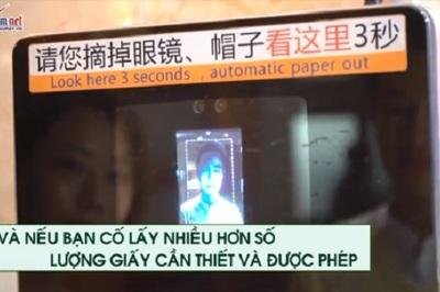Trung Quốc dùng công nghệ cao chống trộm giấy vệ sinh