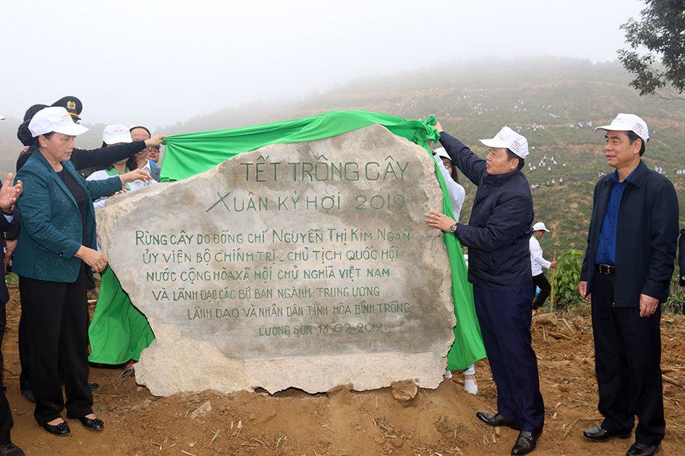Tết trồng cây,Chủ tịch Quốc hội,Nguyễn Thị Kim Ngân