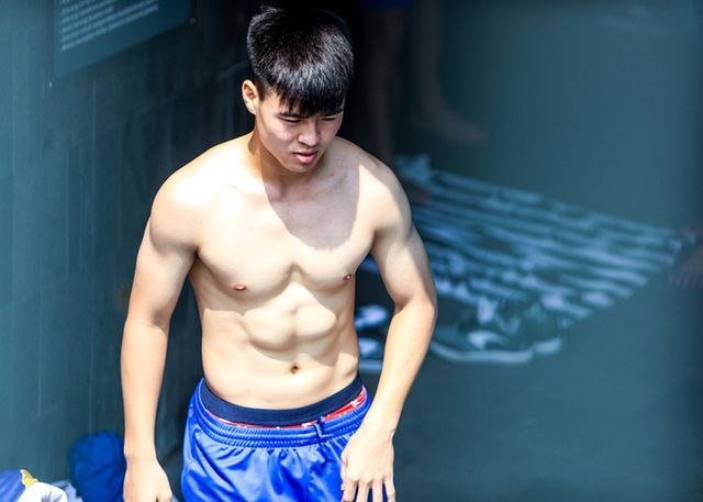 Đọ body 6 múi cầu thủ: Văn Lâm, Tiến Dũng bất phân thắng bại, Đình Trọng xếp chót bảng