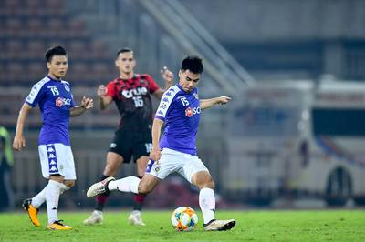 Hà Nội FC đá play-off Cúp C1 châu Á với Shandong Luneng khi nào?