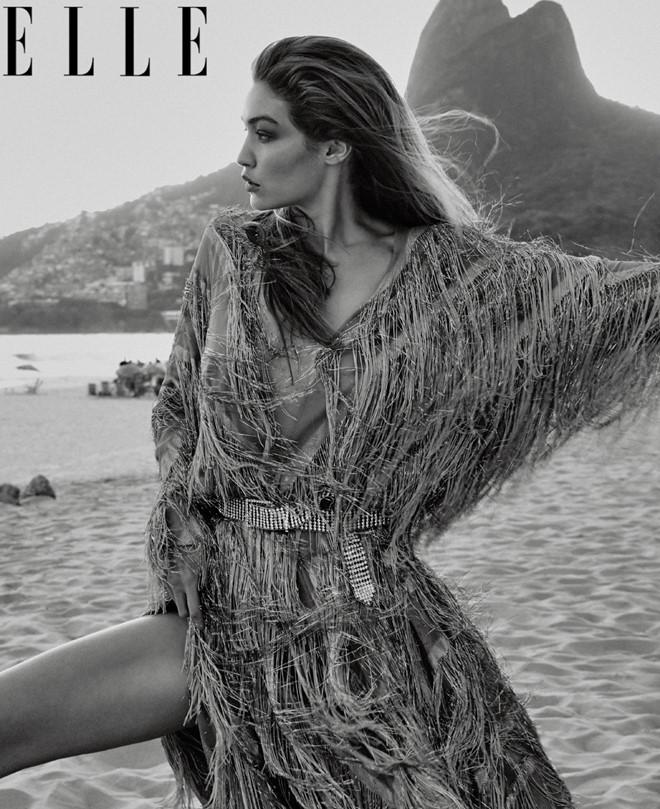Gigi Hadid,siêu mẫu,tạp chí Elle