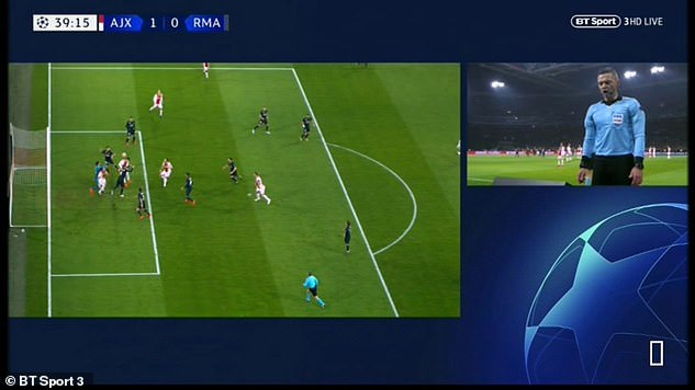 Real Madrid,VAR,Ajax