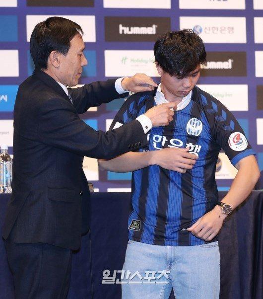 Công Phượng,Công Phượng ra mắt Incheon United,HLV Park Hang Seo,Incheon United,HAGL