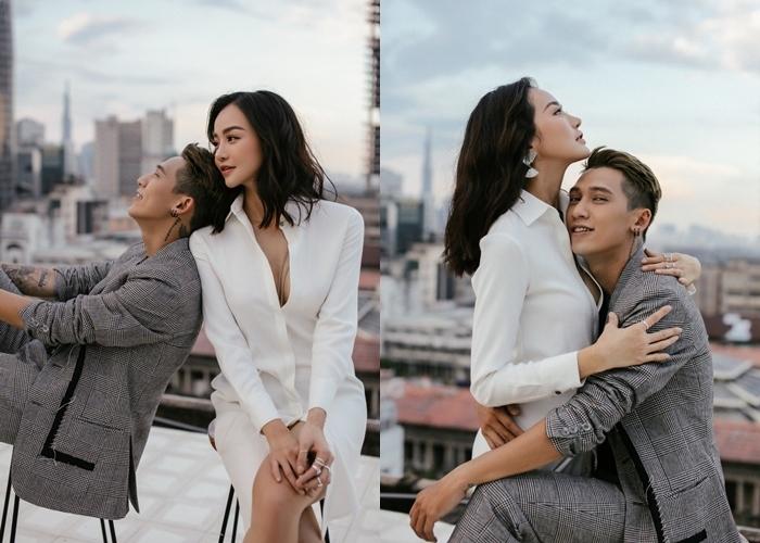 Tronie công khai yêu Hoa hậu Kiều Ngân ngày Valentine sau 2 năm hẹn hò