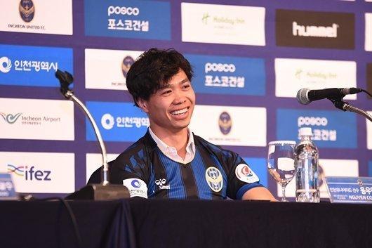 Công Phượng,Công Phượng ra mắt Incheon United,Incheon United,K-League,HLV Park Hang Seo