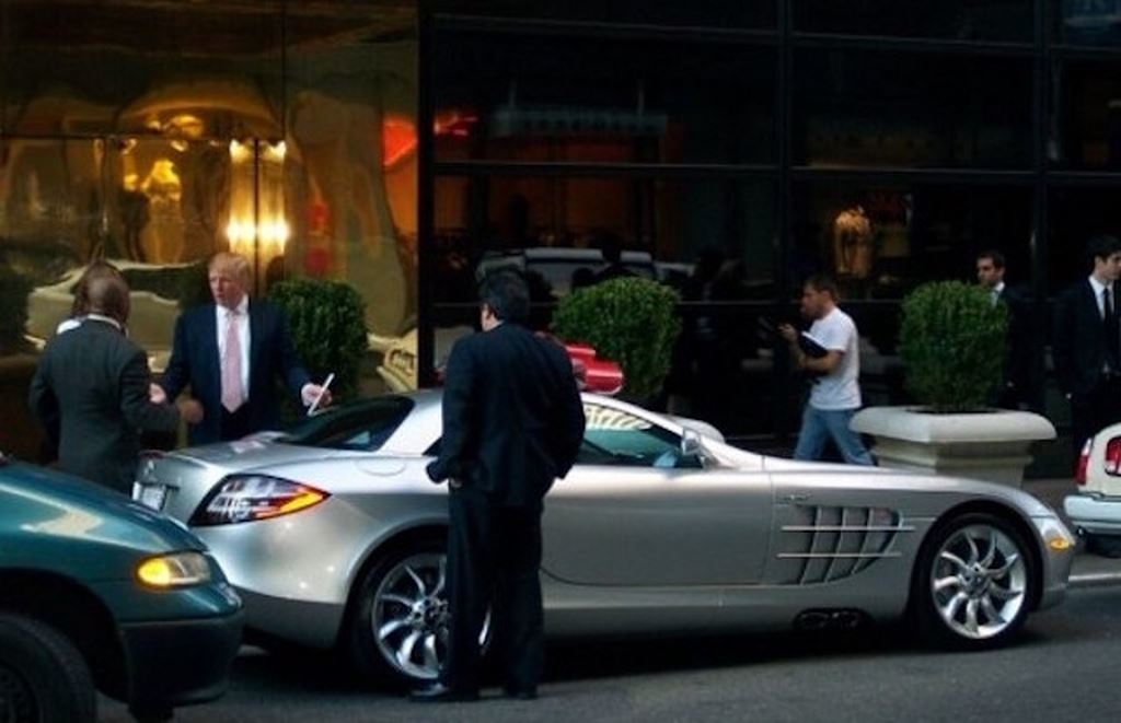 Trước khi làm tổng thống, ông Donald Trump là tay chơi xe khét tiếng